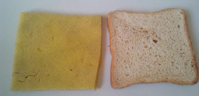 sponge slice bread