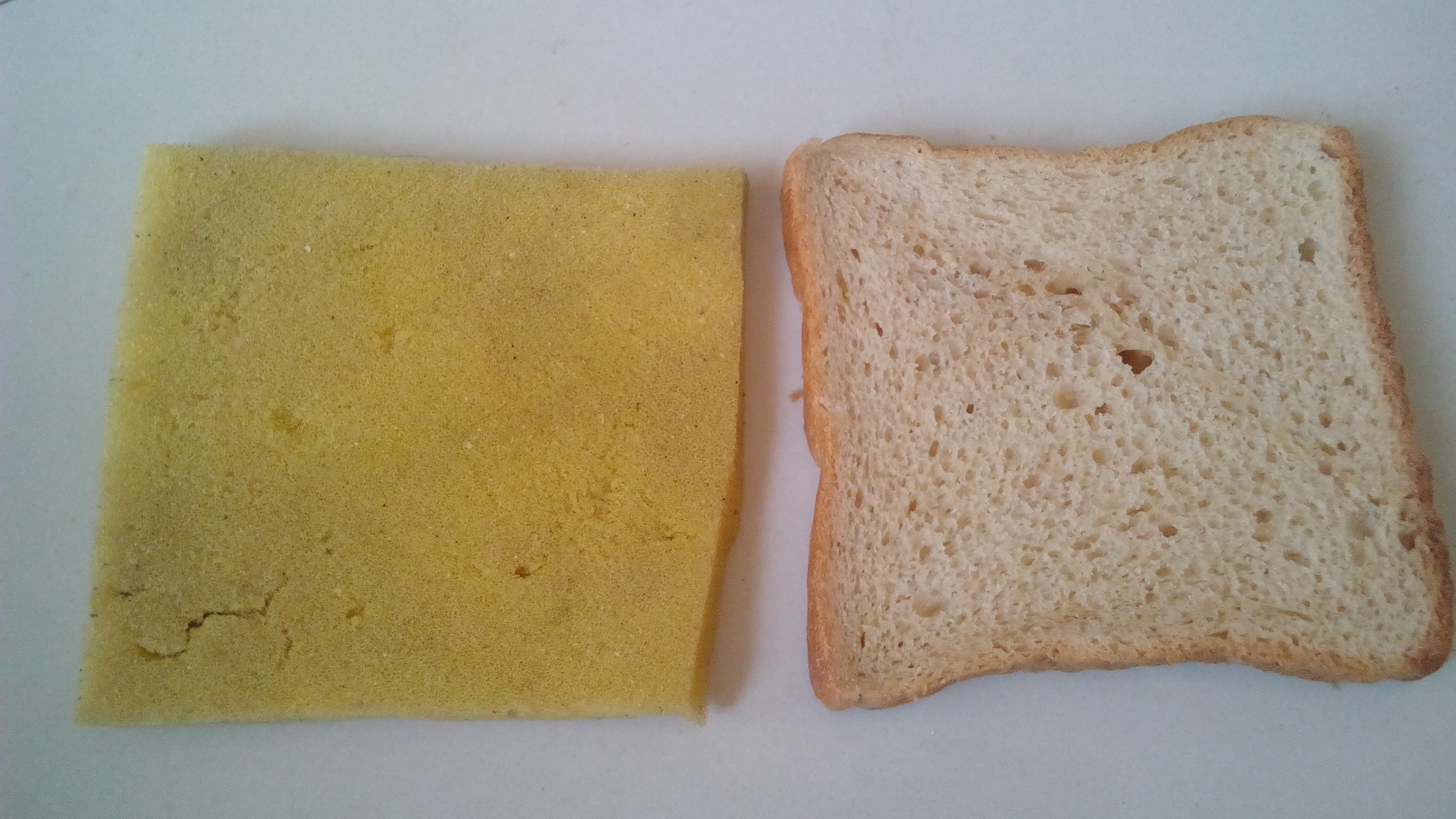 sponge slice bread